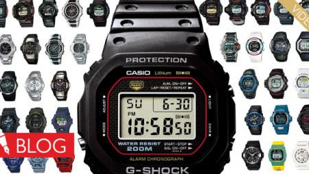 Krátká historie plná prvenství. Takto šel čas shodinkami Casio G-Shock