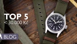 Nejlepší pánské hodinky do 30000 korun? Vnabídce je křemíková setrvačka inablýskaná ocelová legenda