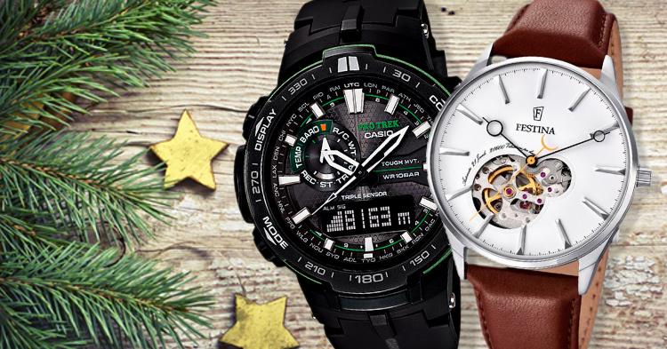 Hodinky ako vianočný darček  Týmito modelmi spravíte radosť každému mužovi 637eba7691a