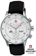 SWISS MILITARY CHRONO 17700ST-2L