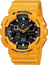 CASIO G-SHOCK GA 100A-9A