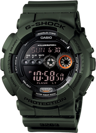 CASIO G-SHOCK G-CLASSIC GD 100MS-3