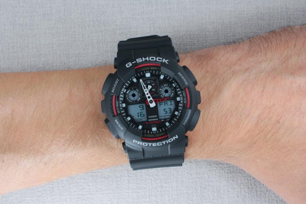 CASIO G-SHOCK GA 100-1A4 GA 100-1A4