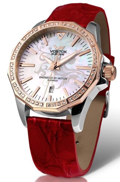 fd60d6cb55f Dámské hodinky s datem. VOSTOK-EUROPE YT57 2233165