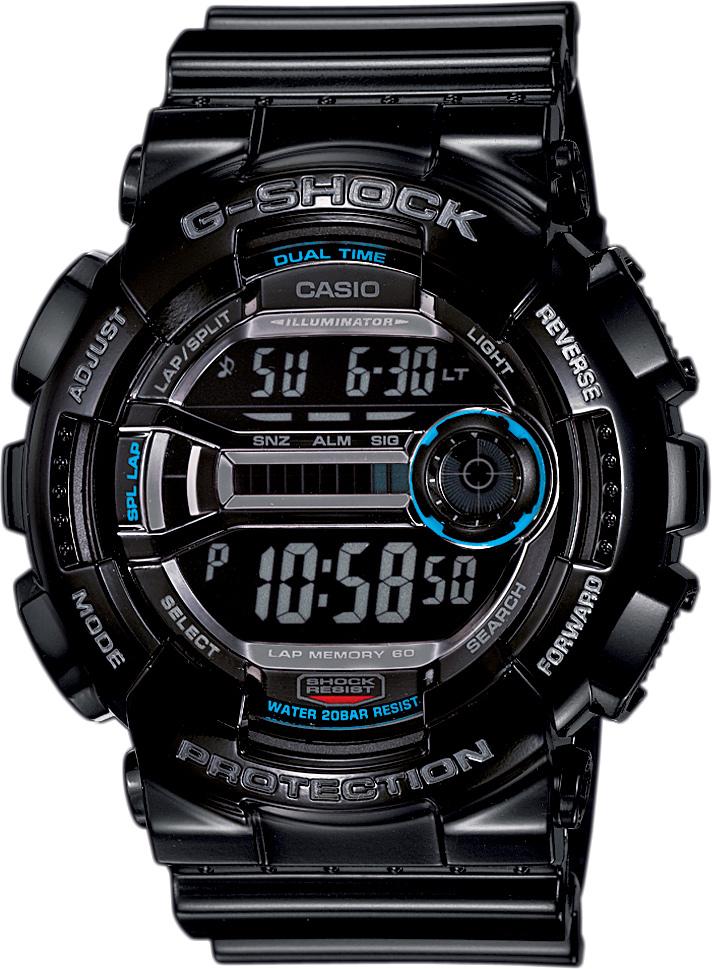 29e02fc5c5b Pánské hodinky s budíkem a stopkami. CASIO G-SHOCK G-CLASSIC GD 110-1