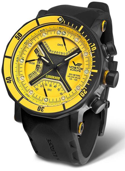 e05b9fda970 Pánské hodinky VOSTOK TM3603-6205187 Lunochod s chronografem ...