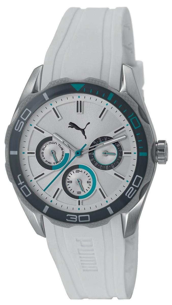 Dámské hodinky. PUMA Challenger S White Turquoise PU103192004 b98fd1c82a