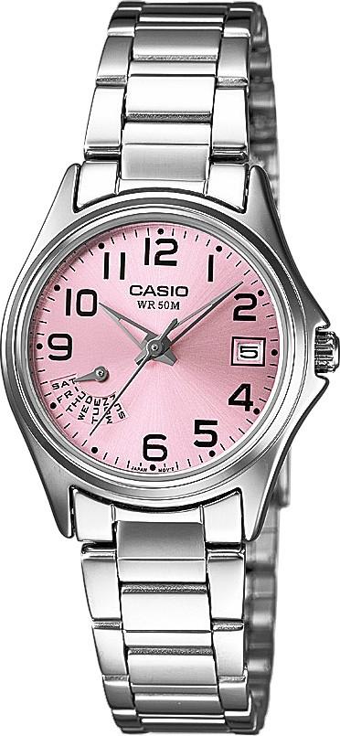 Dámské hodinky s datem. CASIO COLLECTION LTP 1369D-4B 53d56b3eaf