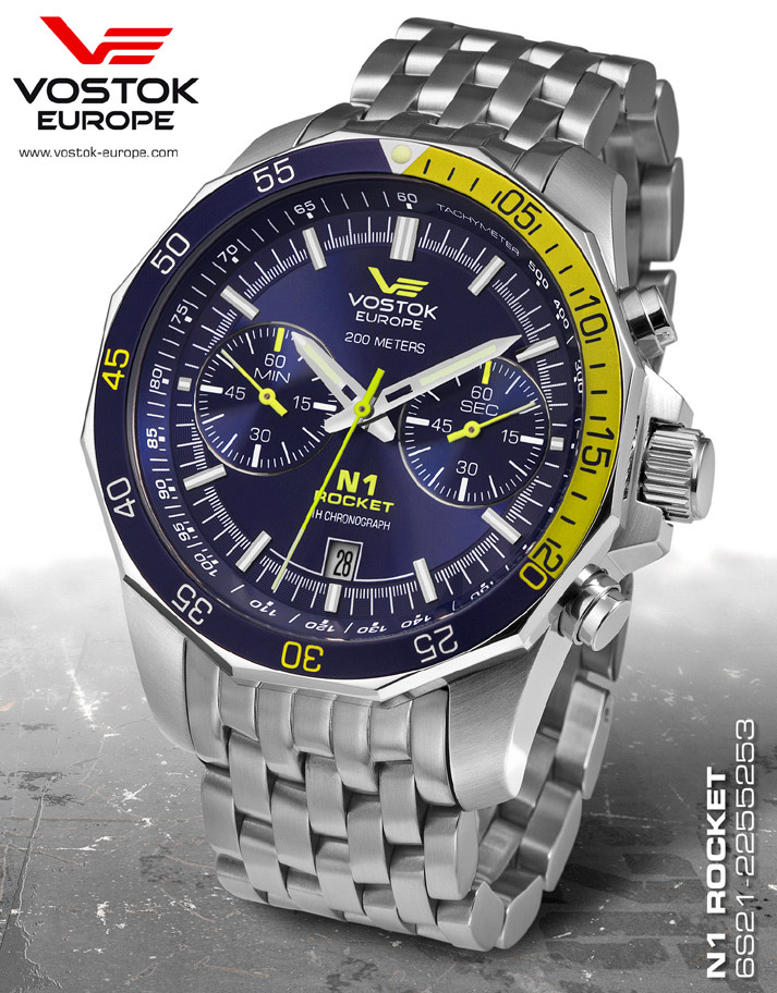 VOSTOK-EUROPE 6S21/2255253B