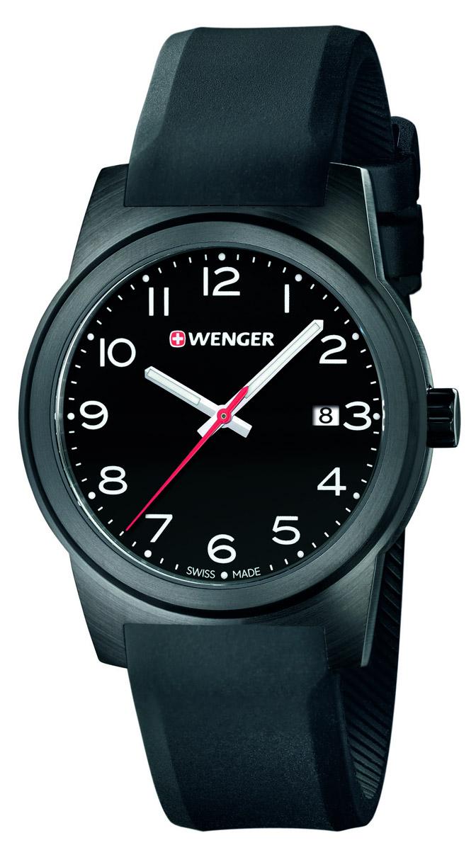 30c03c19ff9 Pánské hodinky s datem. WENGER FIELD 01.0441.151