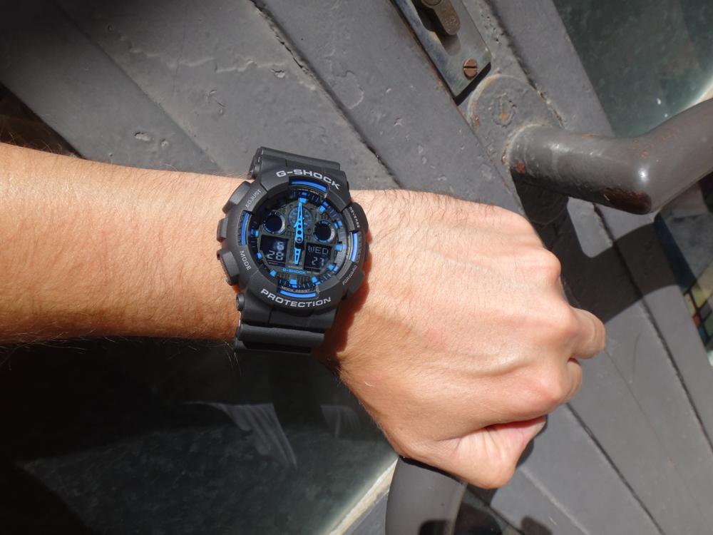 CASIO G-SHOCK G-CLASSIC GA 100-1A2 b43fbe43e12
